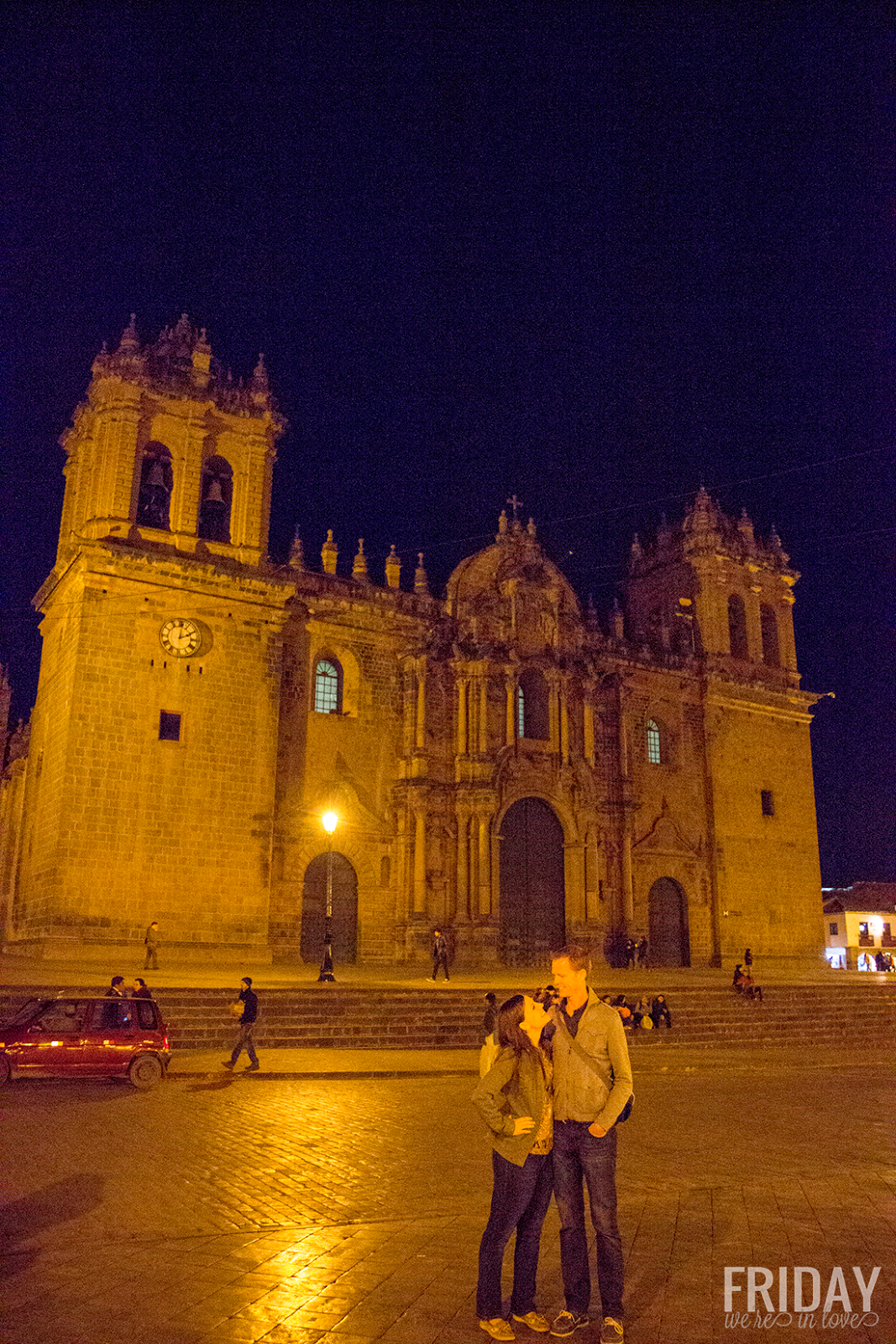 Cusco Peru and at Night