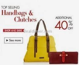 Handbags & Clutches upto 40% off