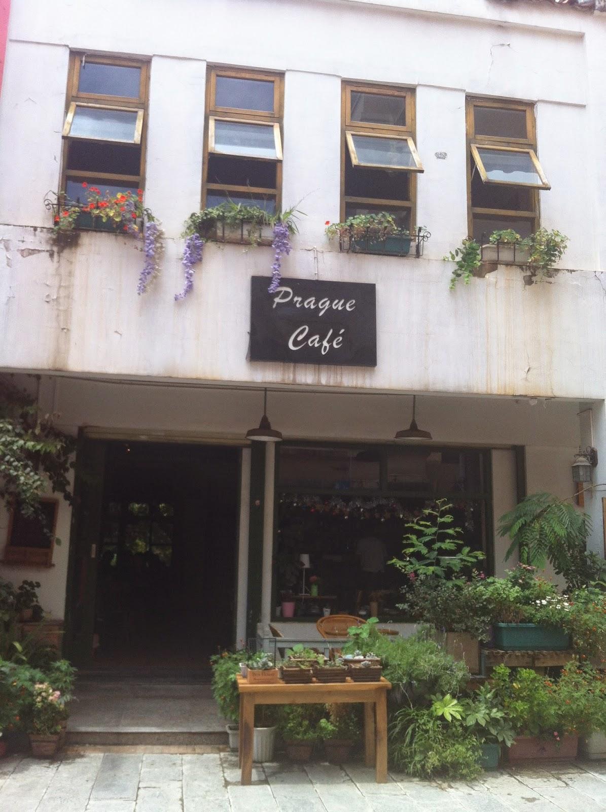 Prague Cafe in Kunming