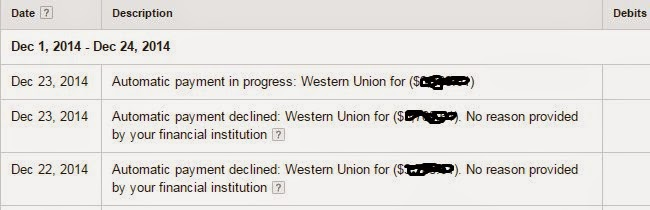 Responce From Google ! Adsense Automtic Payment Declined: Western Union ($$$$)