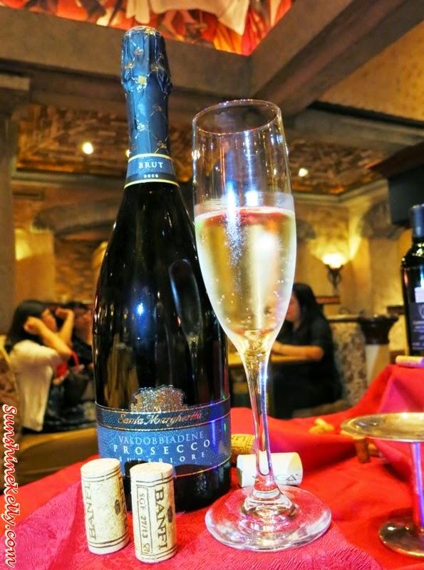 Santa Margherita, Brut Valdobiadene, Italian Dining Experience, Santa Margherita Wine Dinner, Villa Danieli, sheraton imperial kl, food review, food wine pairing,