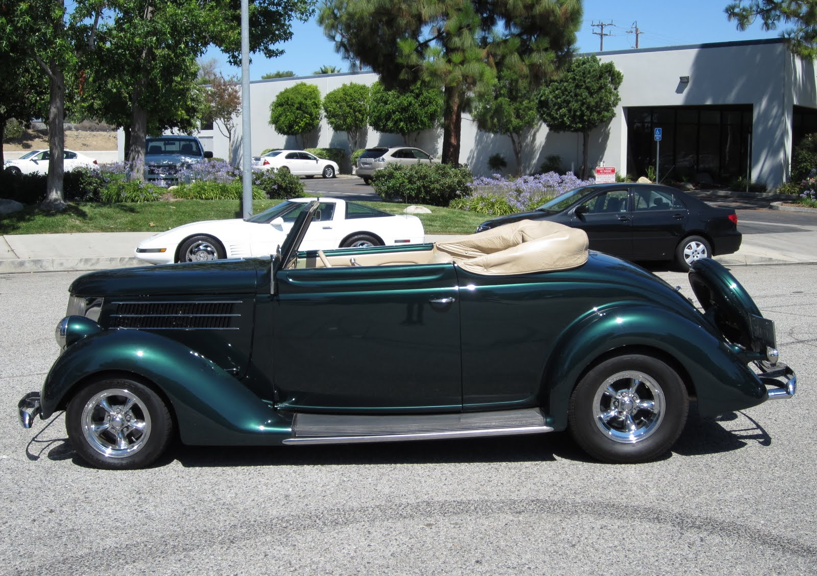 Hemmings gift guide 1936 ford club cabriolet