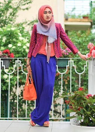Inspirasi Tampilan Stylish Hijab