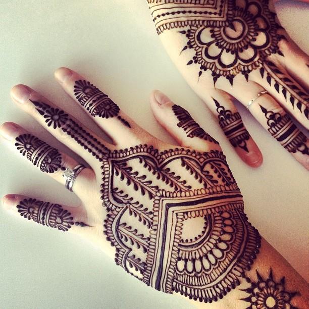 Cantik Alami Muslimah Cara Menggunakan Henna