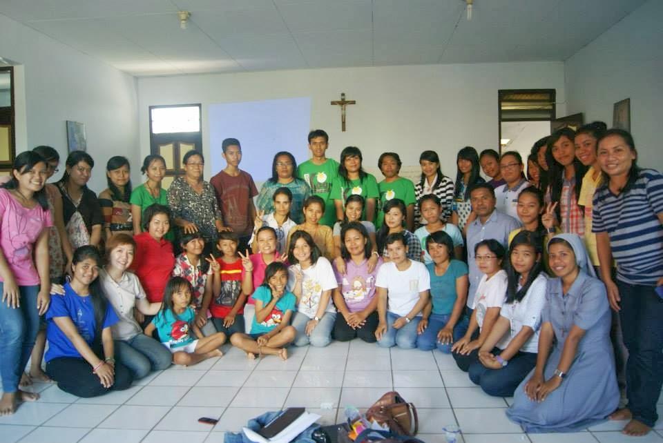 Bersama Pendamping Sekami Kendari Sulawesi Tenggara