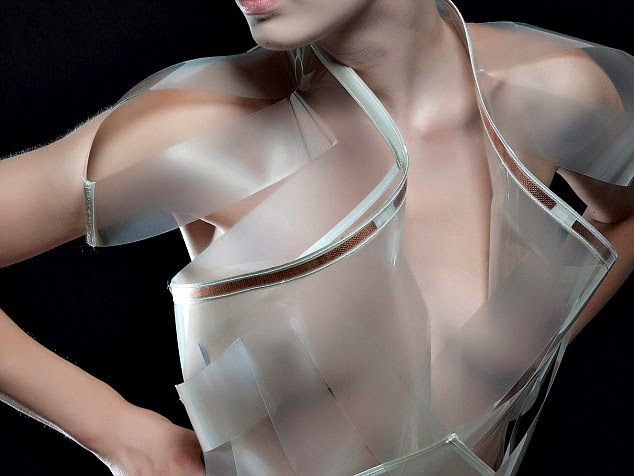 Sexual Arousal Makes This Dress Transparent