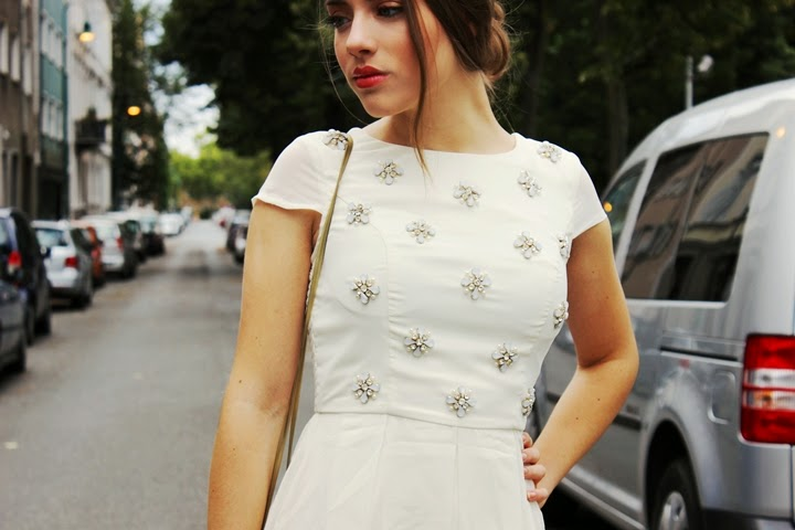 skater dress herbst outfit