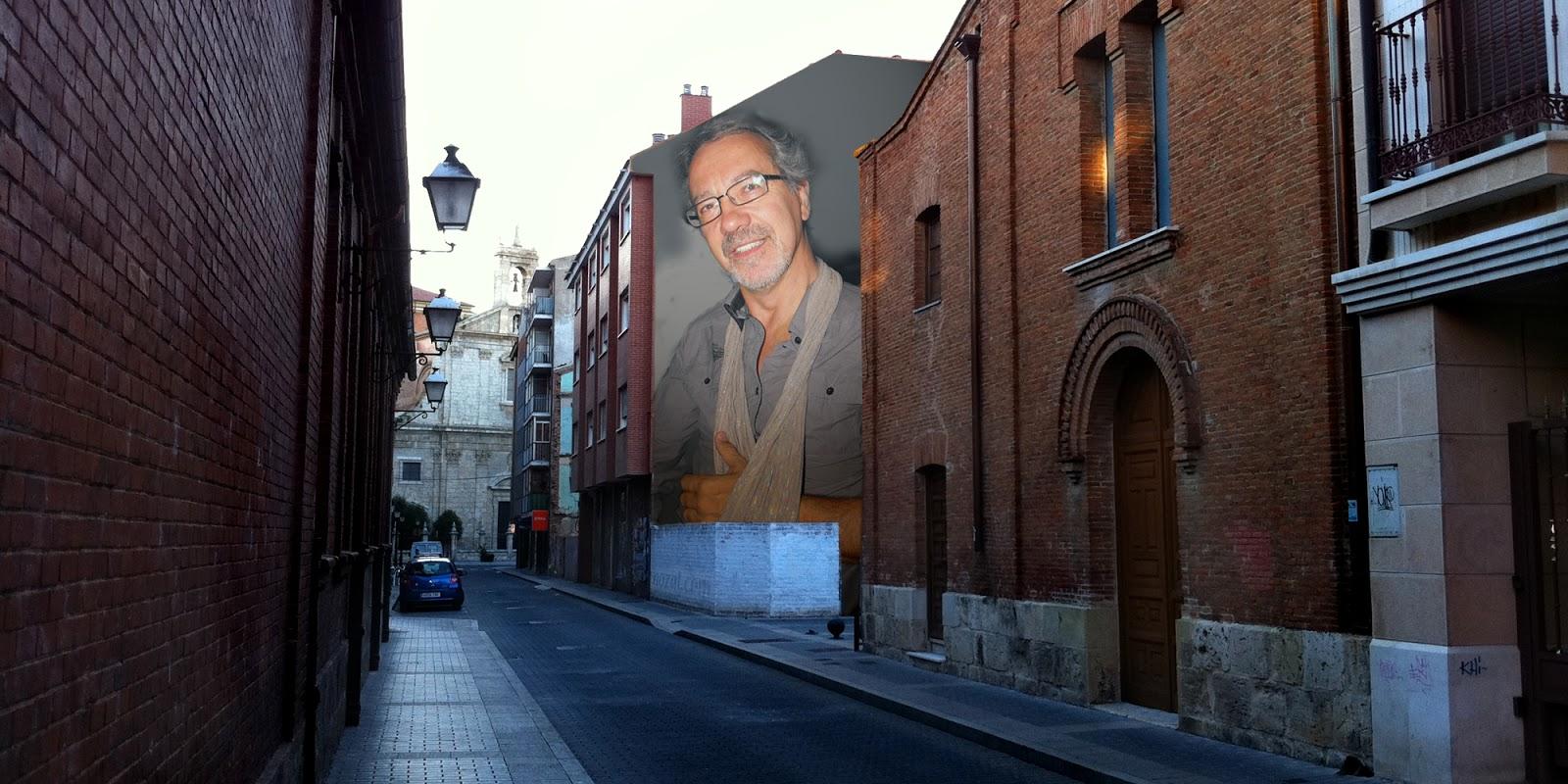 Medianera de Julio Alonso, 2014 Abbé Nozal