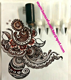 henna applicator bottle