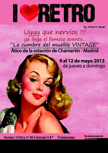 I love Retro: Cumbre del mueble Vintage