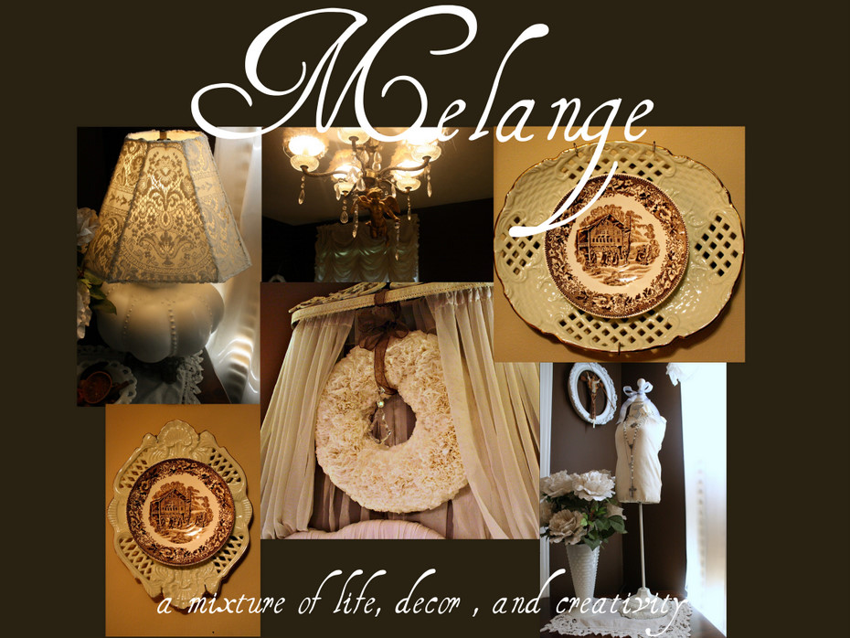 Melange: A mixture of life,decor, and creativity