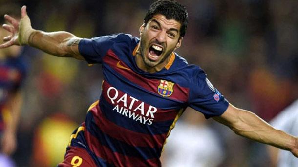 Luis Suárez valoró el FC Barcelona-Athletic en zona mixta