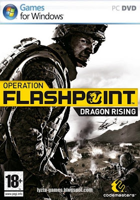 Operation Flashpoint: Dragon Rising PC Cover