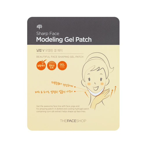 The Face Shop, Sharp Modelling Gel Patch, slimmer face, slimming patch, skincare, korean skincare, beauty