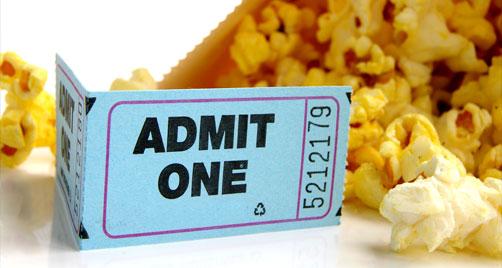 Mis ojos te invito al cine yo pago la entrada y tu las for Cines arenys precios