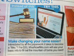 Change your Name for Less Money & Less Work