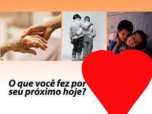 SEJA SOLIDÁRIO(A) COM SEU PROXIMO!
