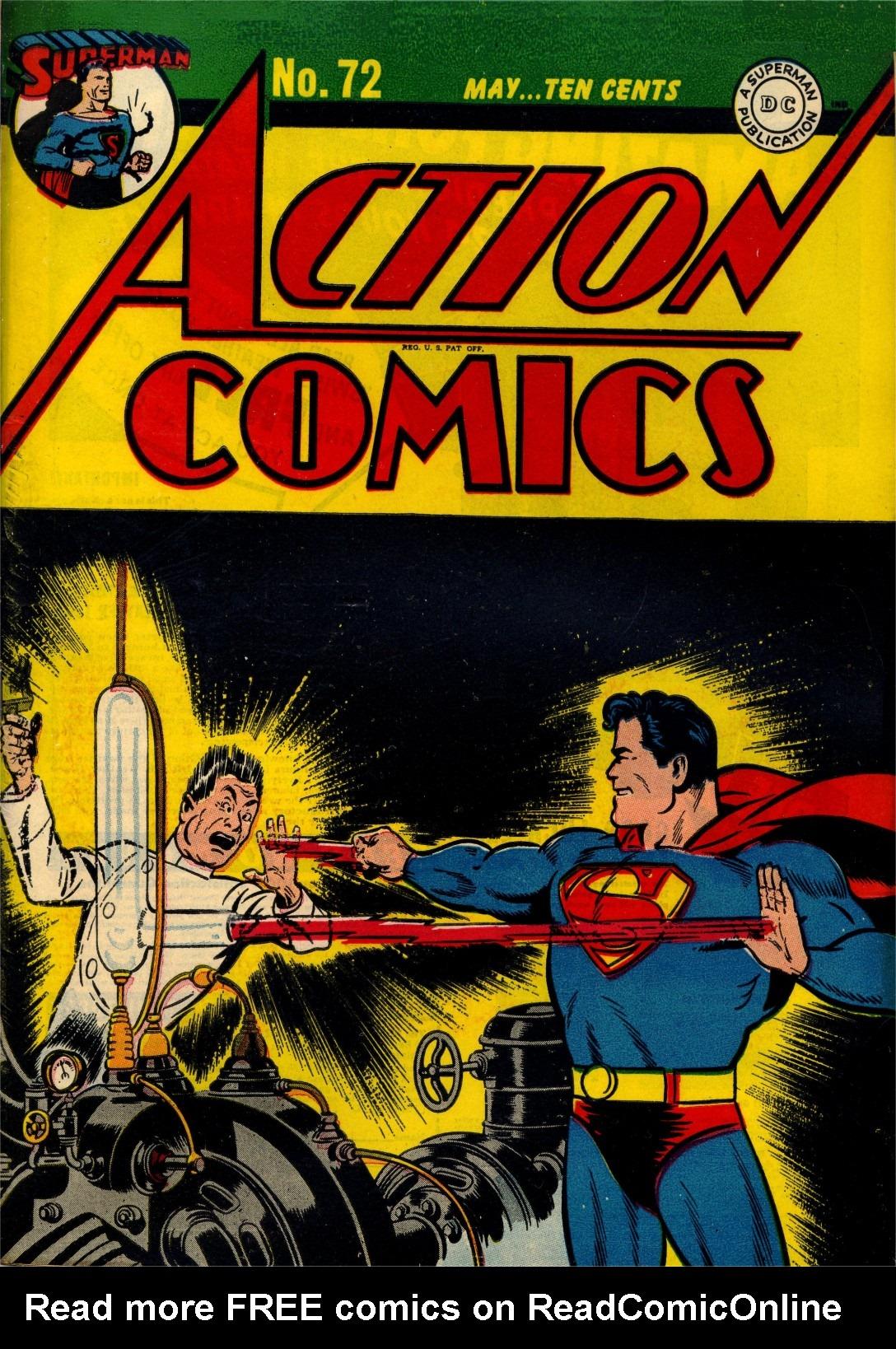 Action Comics (1938) 72 Page 1