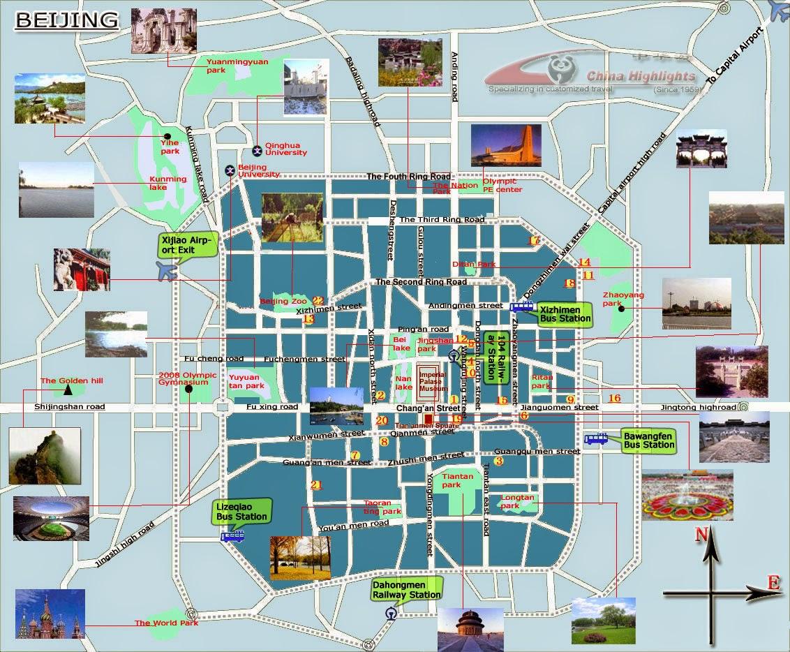 map Beijing