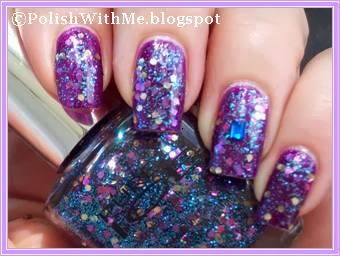 Nailart, chinaglaze, pureice, flyingdragon, neversatisfied