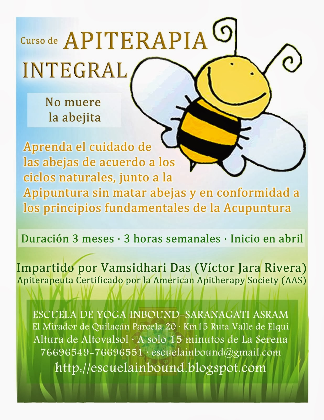 Curso de APITERAPIA INTEGRAL - Abril 2014