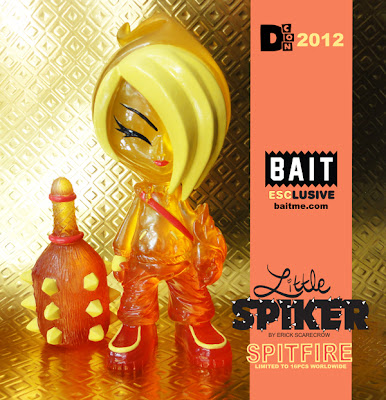 Designer Con 2012 Exclusive Little Spiker Spitfire Resin Figure by ESC Toy