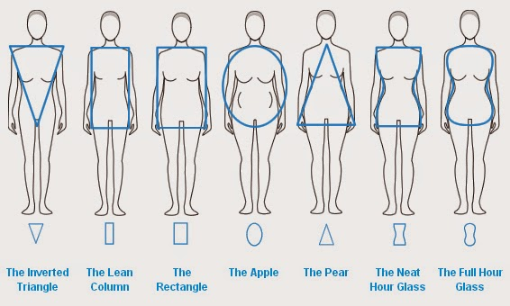 Different Types of Pear Shaped Bodies Body Types Body Shapes