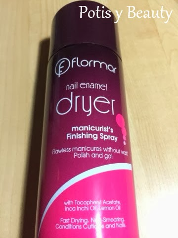 Spray secado uñas flormar