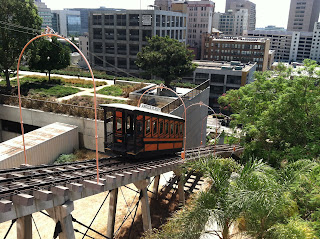 A visit to Angels Flight Railway in Los Angeles