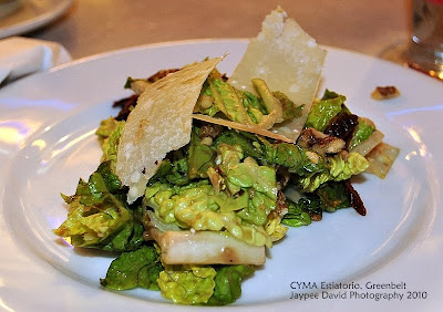 Roka Salata with Bleu Cheese, Cyma in Greenbelt
