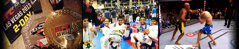 GRAPPLERS QUEST AT THE UFC EXPO