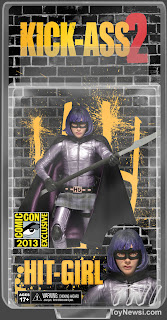NECA Kick-Ass SDCC Exclusive Hit Girl Figure