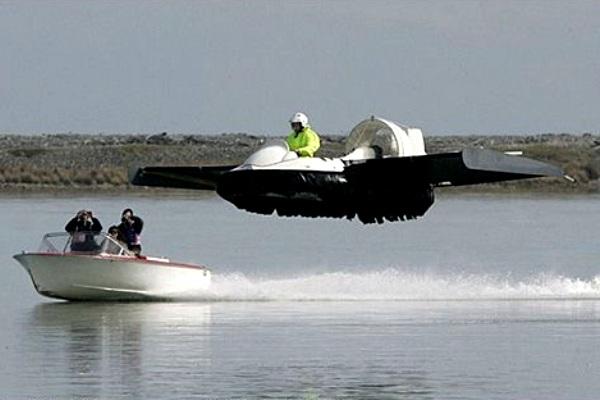Hovercraft Rudy Heeman