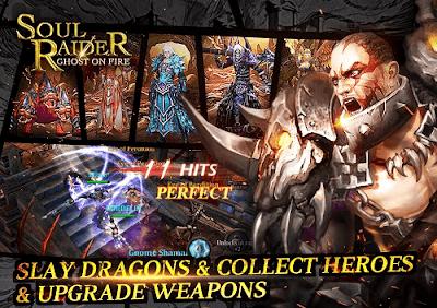 Download Soul Raider Ghost On Fire MMORPG v1.1.2 Mod Apk Data 2