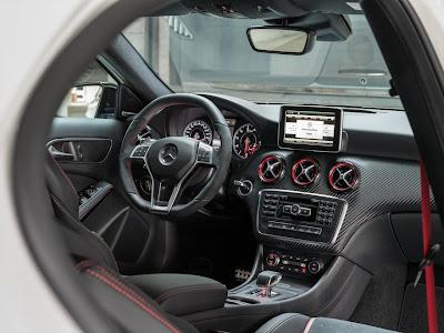 mercedes a45 amg interior