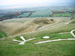 Dragon Hill and the Uffington White Horse, Ridgeway National Trail