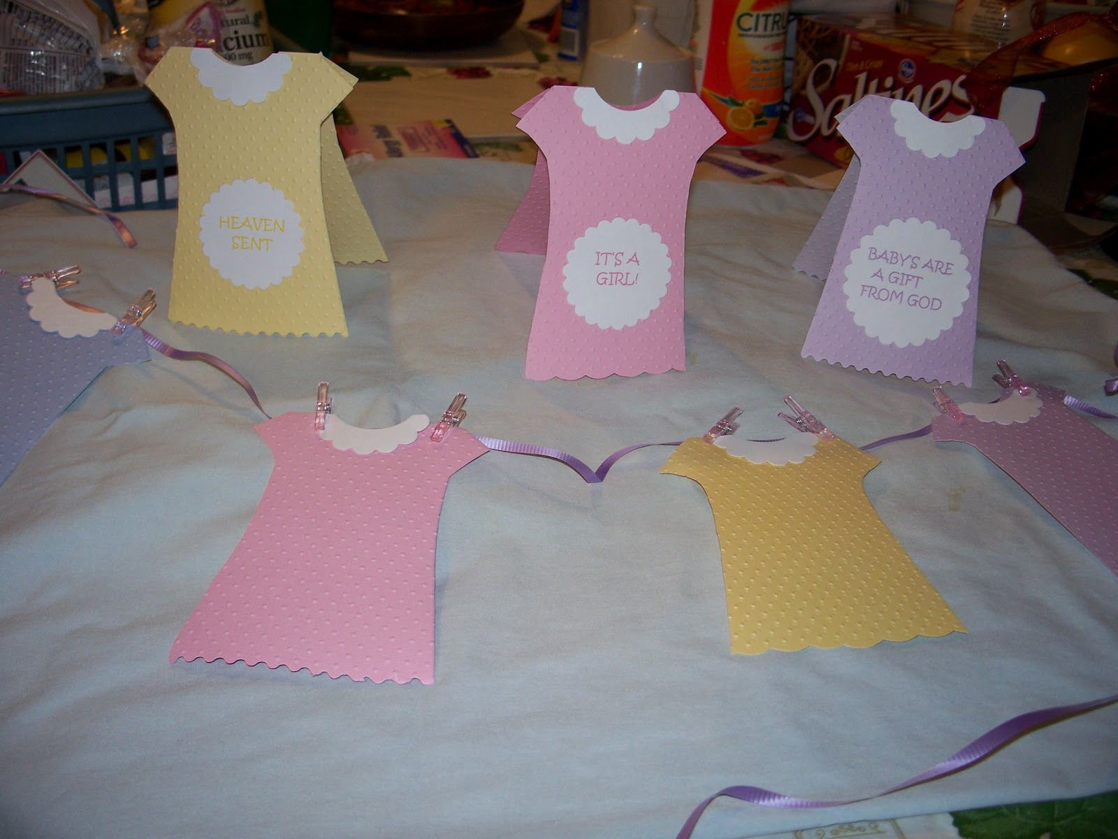 Meemee's Place: Baby Shower Decorations