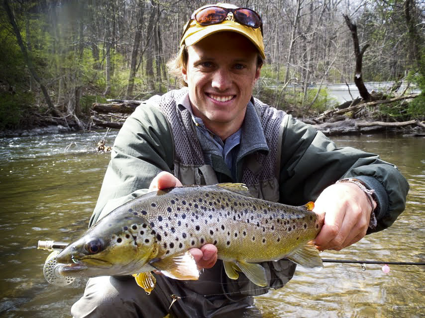 One hook up fly fishing croton watershed brown trout for Best trout fishing in ct