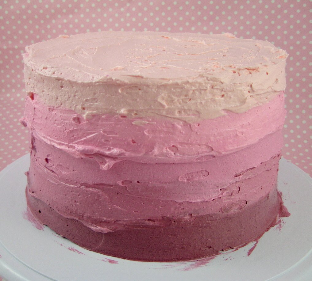 Ombre Layer Cake Tutorial