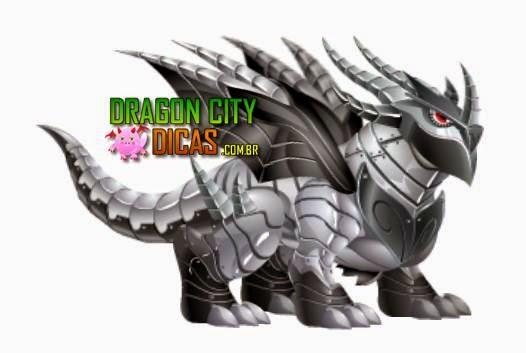 Dragão Metálico Duplo