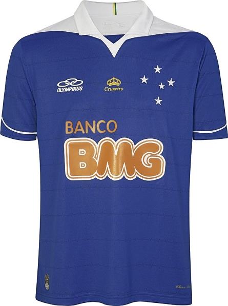 ce44c912d3 Cruzeiro e Olympikus lançam uniformes com homenagem à torcida - Show ...