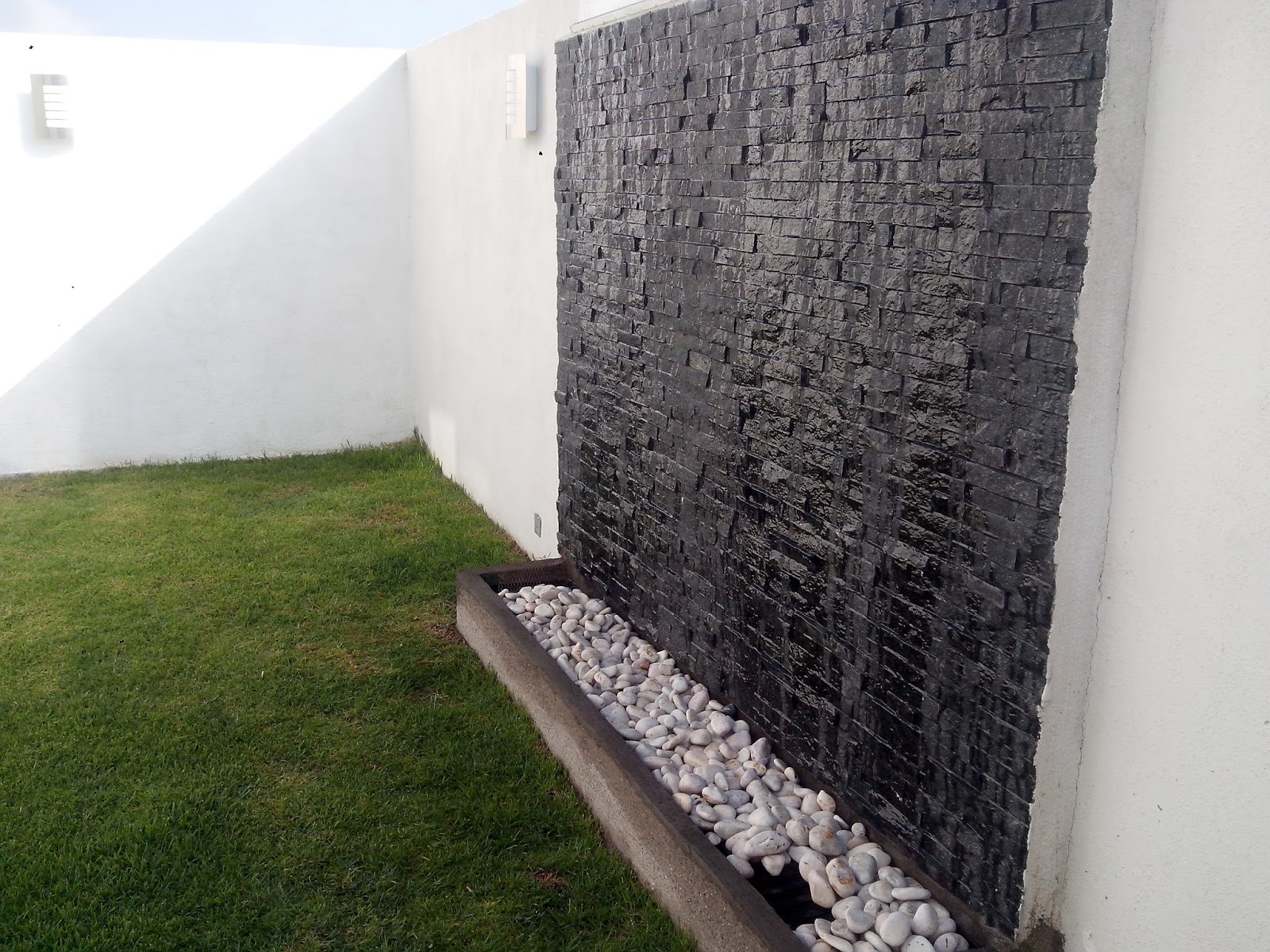 Muro Jardin Decoracin Del Hogar Prosalocom