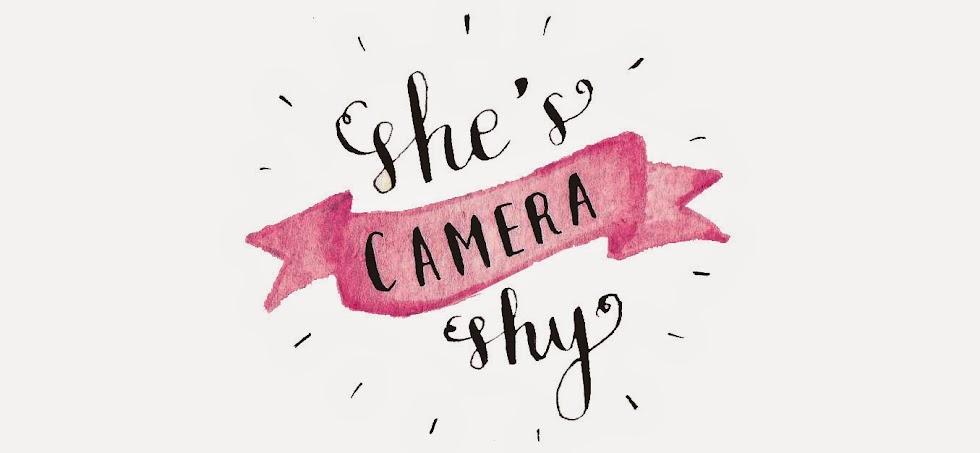 She's Camera Shy