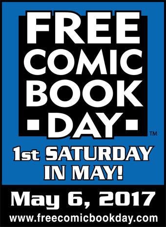 May 6th  Milwaukie, 11 pm-3pm Oregon  Free Comic Book Day