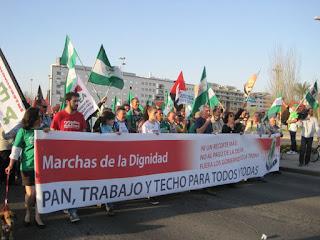 Las Marchas de la Dignidad llegarán a Bruselas en octubre