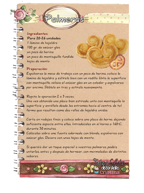 Tartas galletas decoradas y cupcakes palmeras - Pequerecetas postres ...