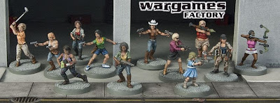 Wargames, factory, female, survivors, zombivores