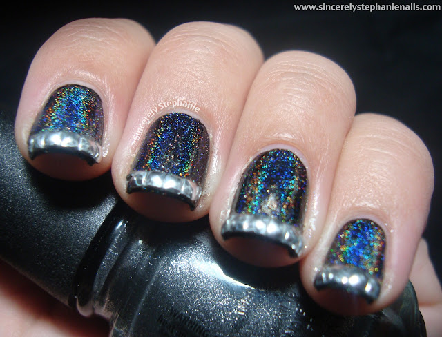 studded tip nails