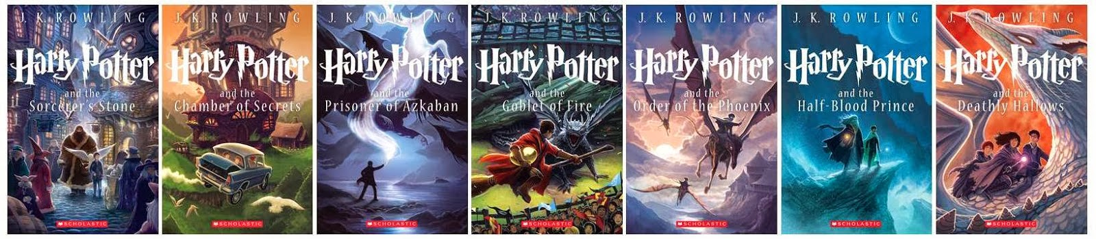 tutti i libri di harry potter in ordine