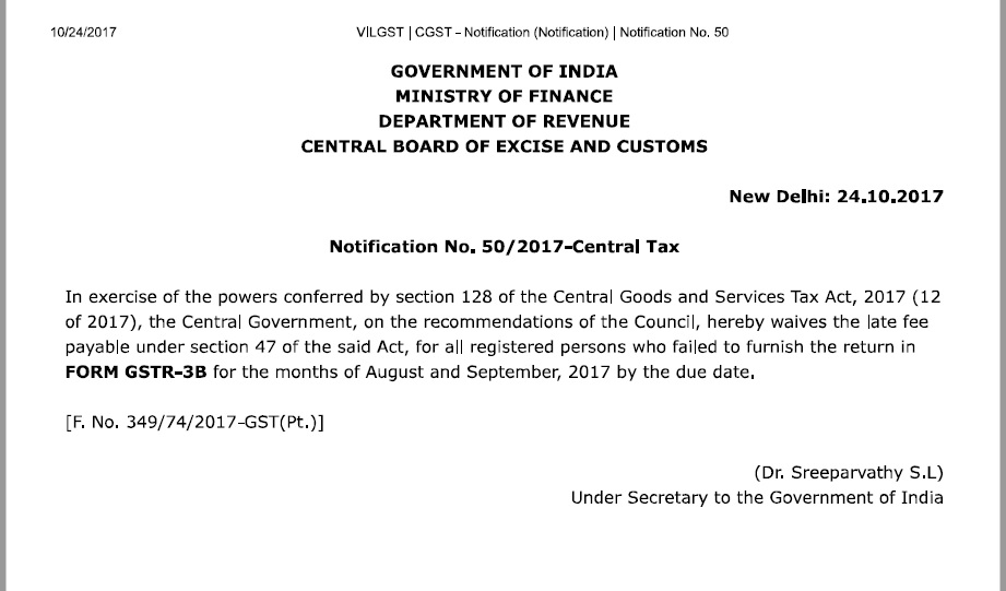 late fees for gst